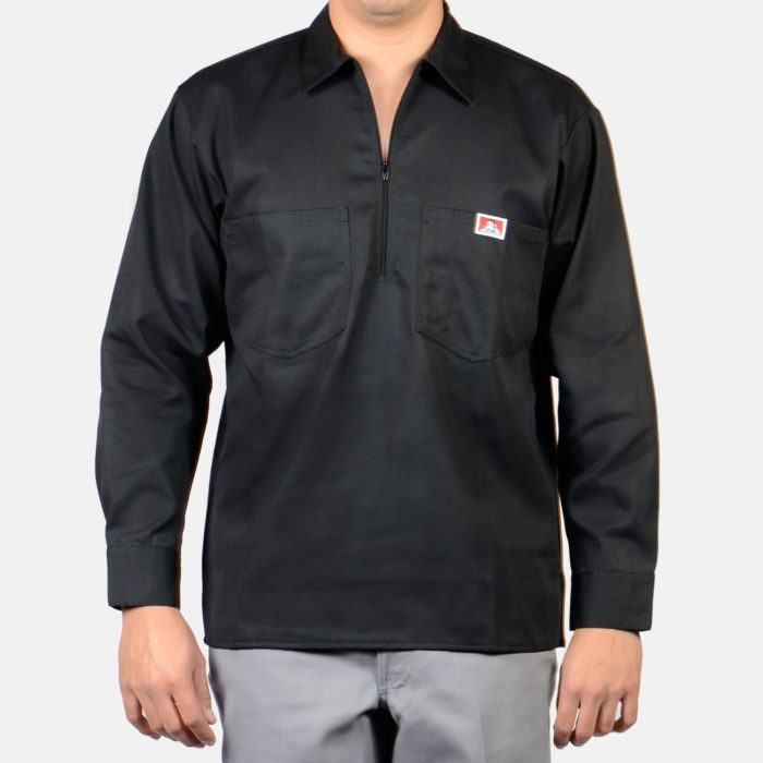 Long Sleeve Solid - Black, 224