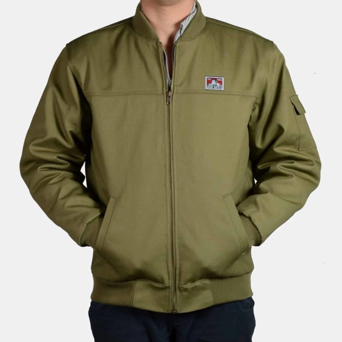 Bomber Jacket - Army Green, 319
