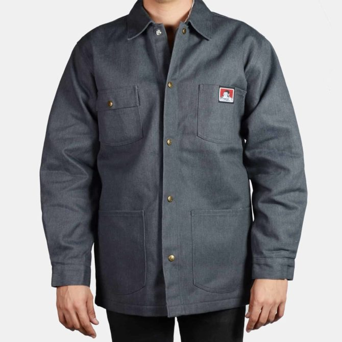 Original Front Snap Jacket – Charcoal Heather