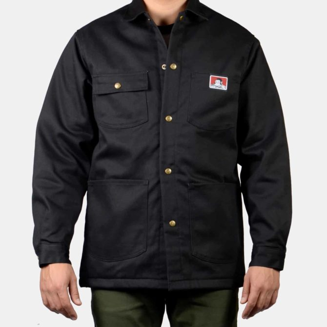 Original Front Snap Jacket – Black