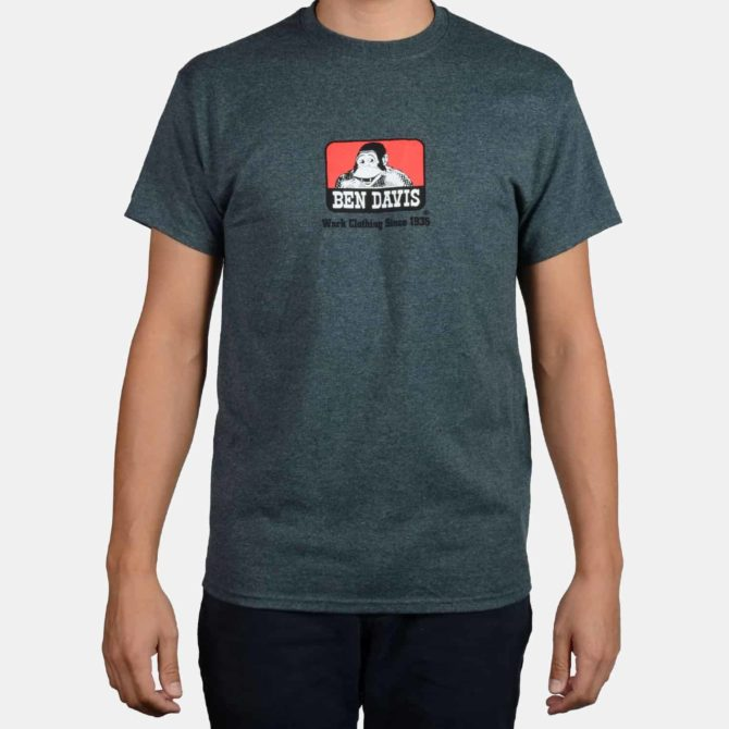 Classic Logo T-Shirt – Charcoal Heather