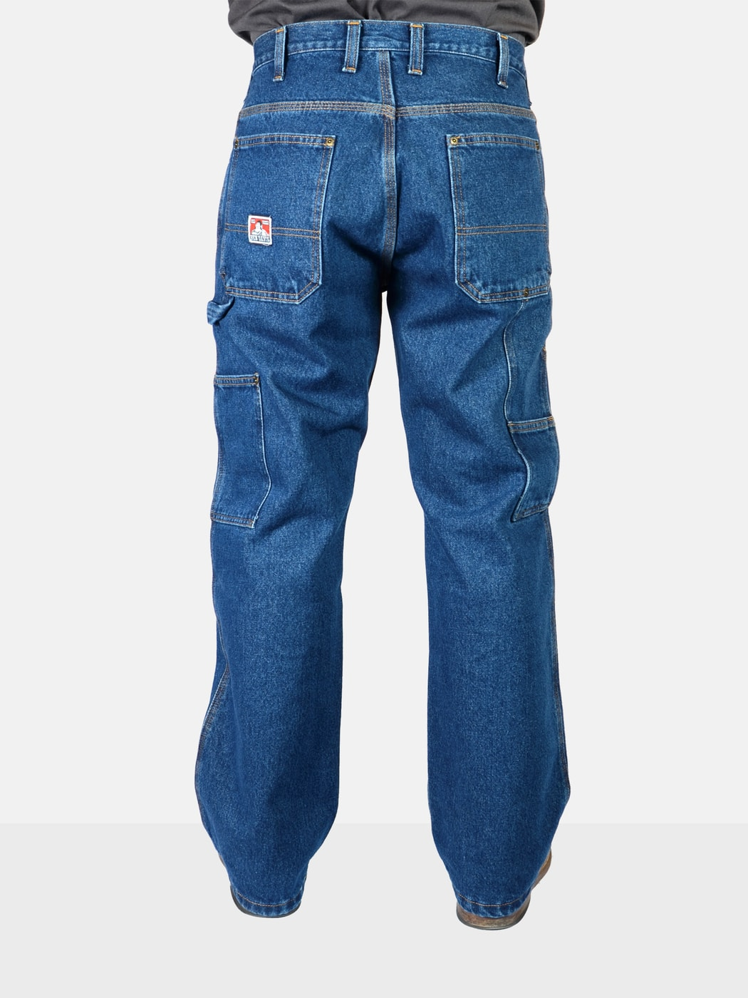 Carpenter Pants Washed Indigo Ben Davis Clothing
