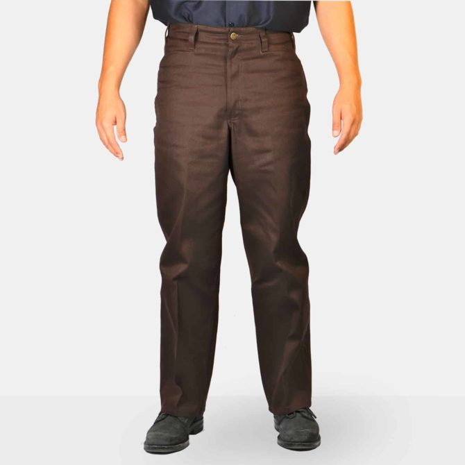 Original Ben'S Pants – Brown