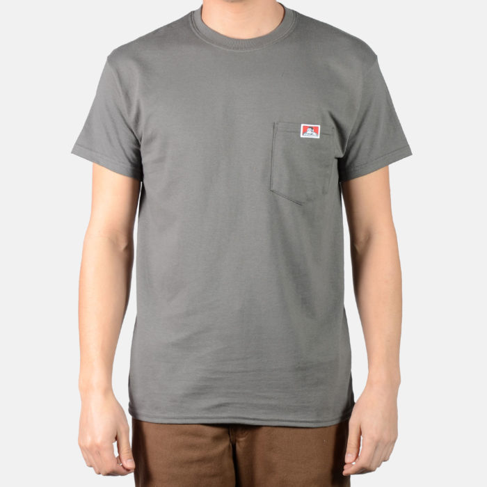 Pocket T-Shirt - Charcoal, 9021