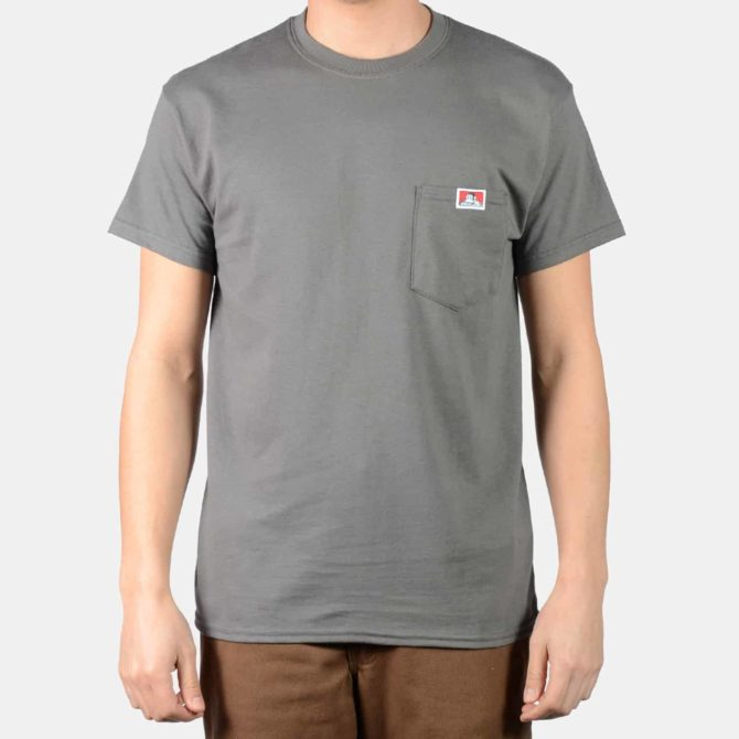 Pocket T-Shirt – Charcoal