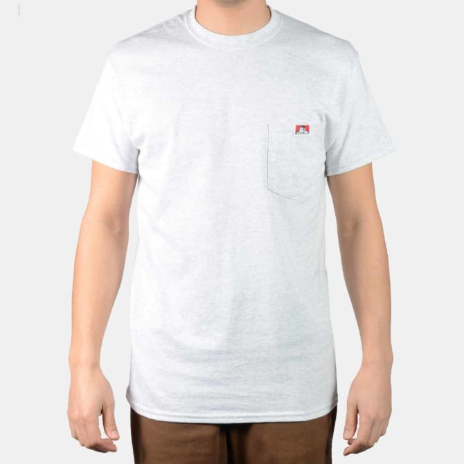 Pocket T-Shirt – Ash Grey