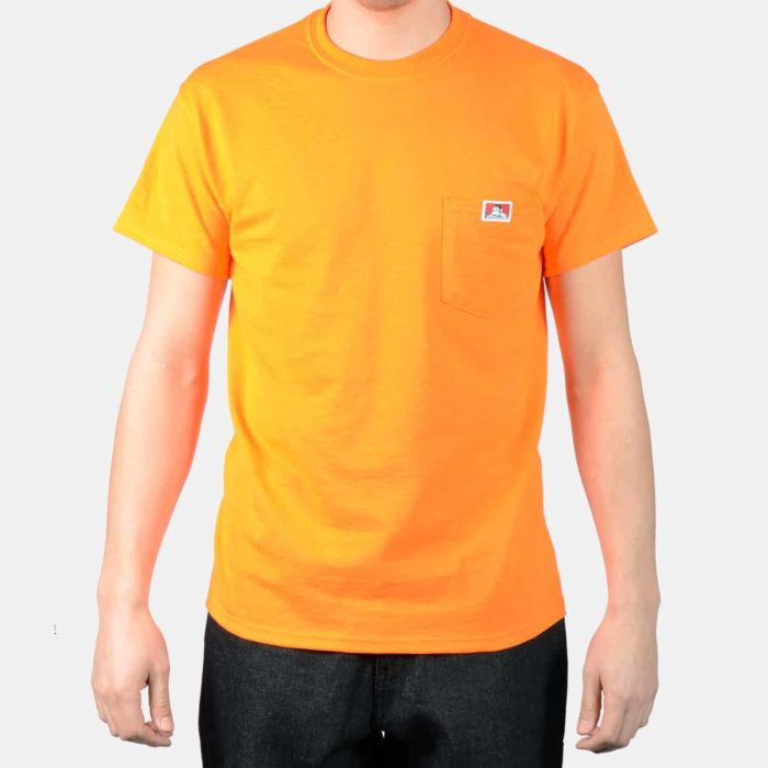 Pocket T-Shirt - Orange, 9026