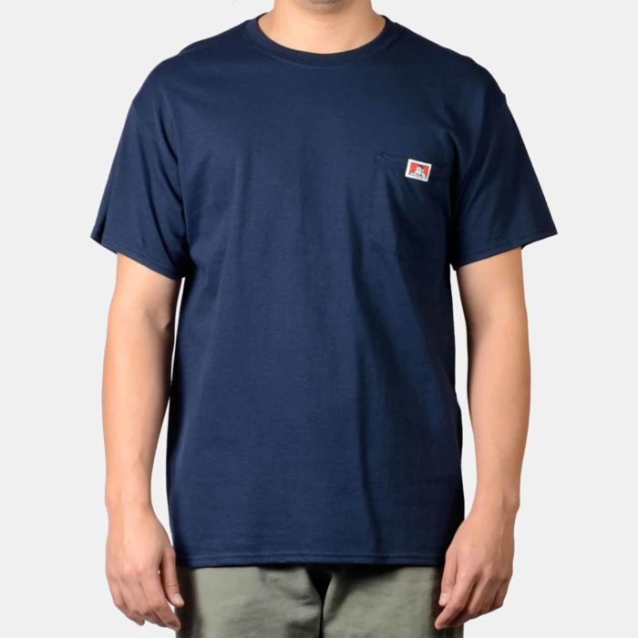 Pocket T-Shirt - Navy, 9028