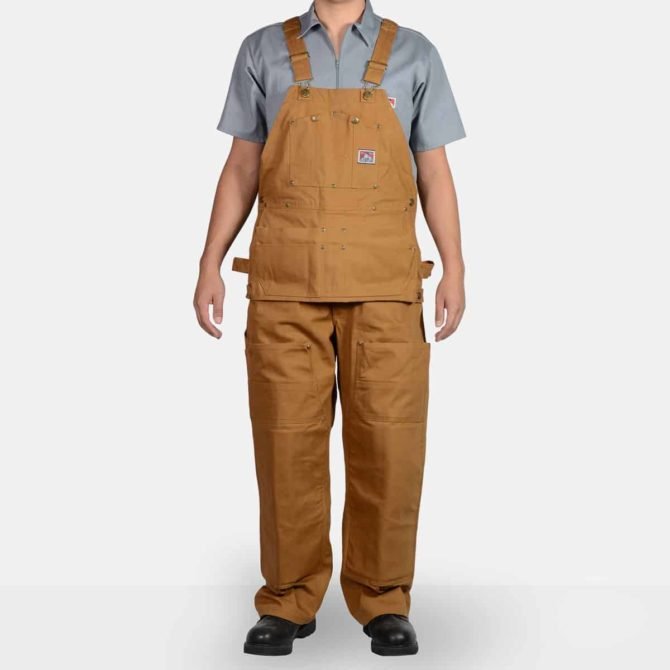 Carpenter Overalls – Brown Duck