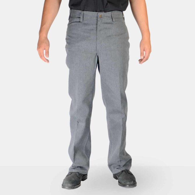 Trim Fit Pants – Charcoal Heather