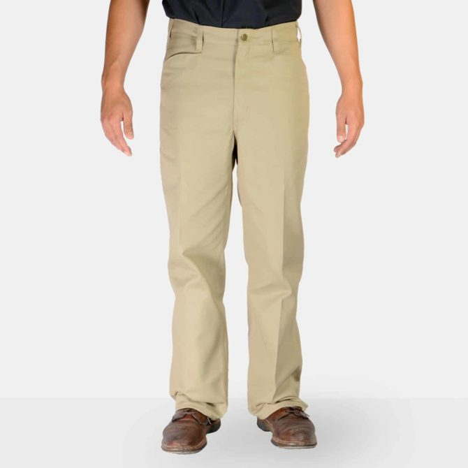 Trim Fit Pants – Khaki