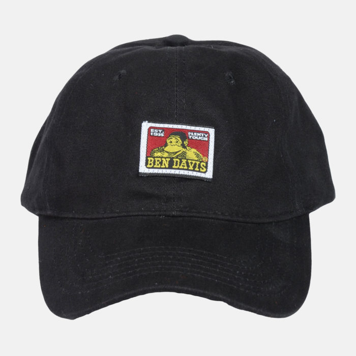 Strap Back Hat - Black