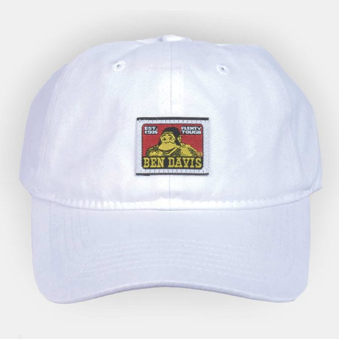 Unstructured Ball Cap – White