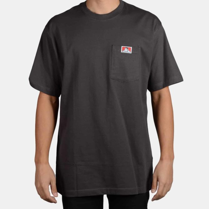 Heavy Duty Short Sleeve Pocket T-Shirt – Charcoal