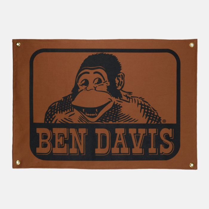 Canvas Banner - Brown Duck