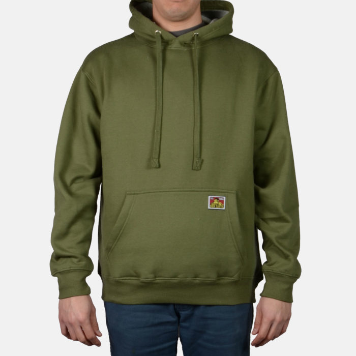 Heavyweight Pullover Sweatshirt - Olive, 982