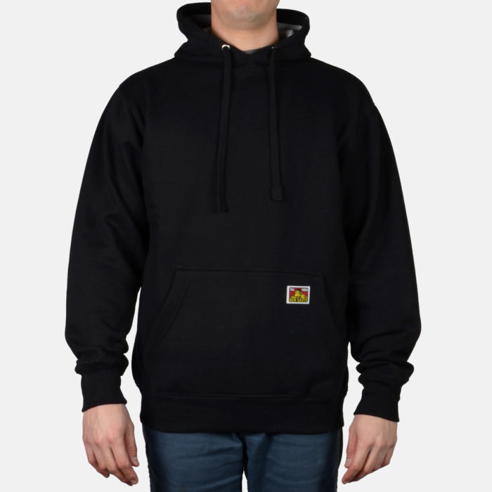 Heavyweight Pullover Sweatshirt - Black, 984