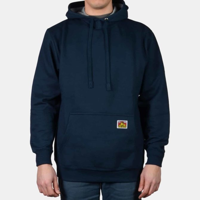 Heavyweight Hooded Sweatshirt – Navy