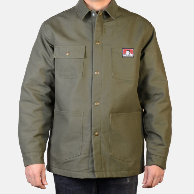 Original Snap Front Jacket – Olive Duck