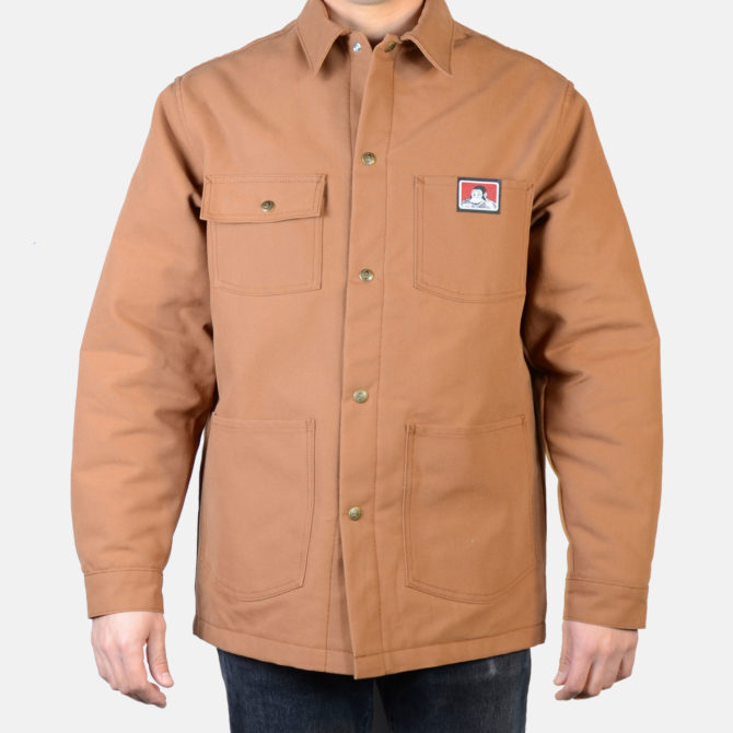 NEW! Original Snap Front Jacket – Brown Duck