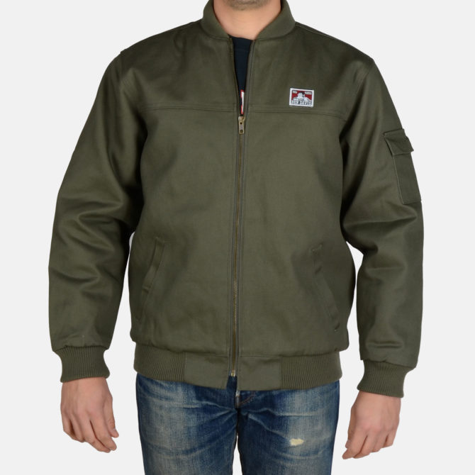 NEW! Bomber Jacket- Olive