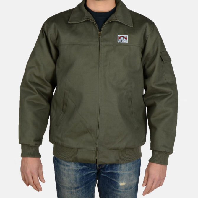 Mechanic's Jacket – Olive
